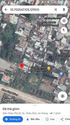 Đất Thành phố Châu Đốc 532m2