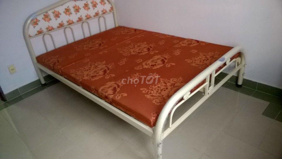 giường sắt mới 100%, sơn tĩnh điện, VCMP HCM