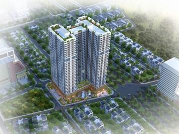 Chung cư Phú Thịnh Green Park (HTV Complex) 82.5m²