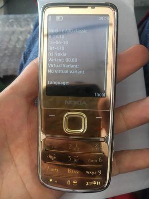 Nokia 6700 gold zin