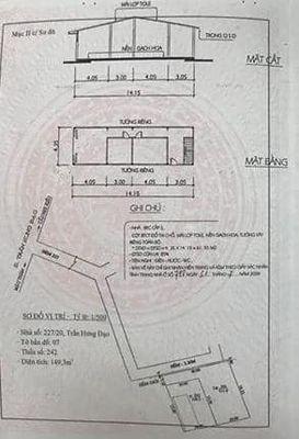 Đất Diện tích đẹp 362m2 Ngay trung tâm TP.P An Phú