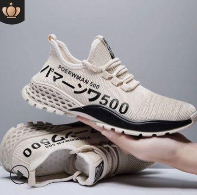 Giày sneaker nam 500 chữ nhật