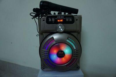 Loa trợ giảng + loa karaoke gia đình + Mic có dây