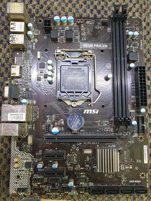 Mainboard MSI H81 PRO-VH có cổng HDMI