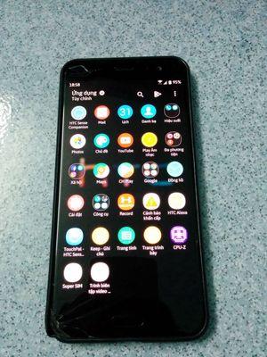 HTC U11 nứt kính