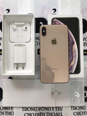 iphone XS Max 256g vàng zin đẹp còn BH tgdd 6/2021