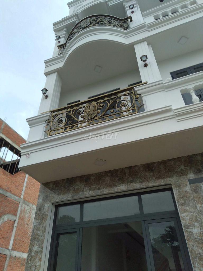 Bán nhà 1 trệt 3 lầu sổ hồng riêng Quận Bình Tân.