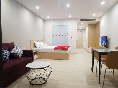 Bán hoặc cho thuê căn hộ studio Goldcoast Nha Tran