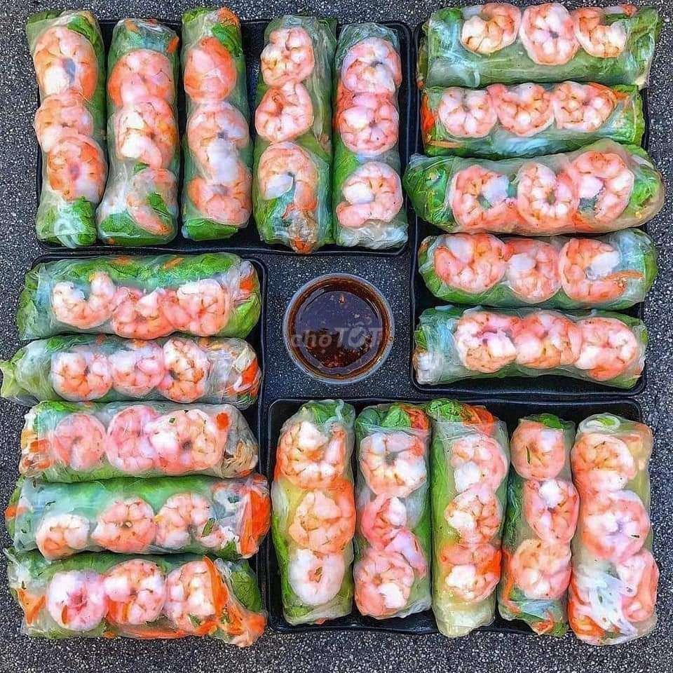 0932179151 - Bánh cuốn Cô Ba 12.000vn.đ /1 cuốn Bảo Lộc