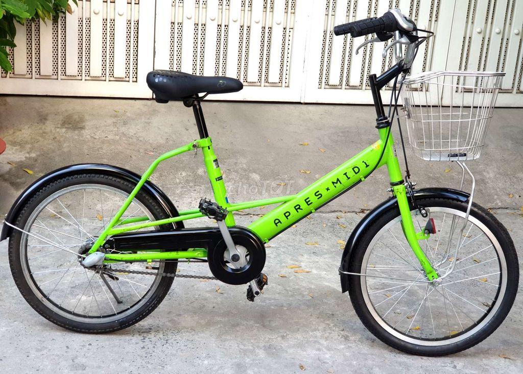 Xe đạp mini nhật Apres Midi đùm 3 số shimano