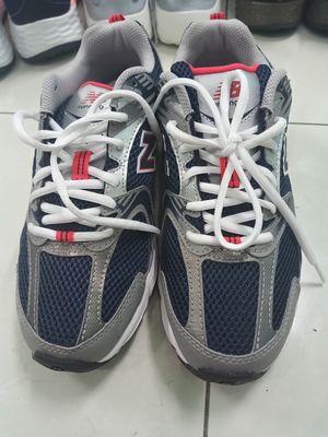 giày new balance  bạc bật tông xanh