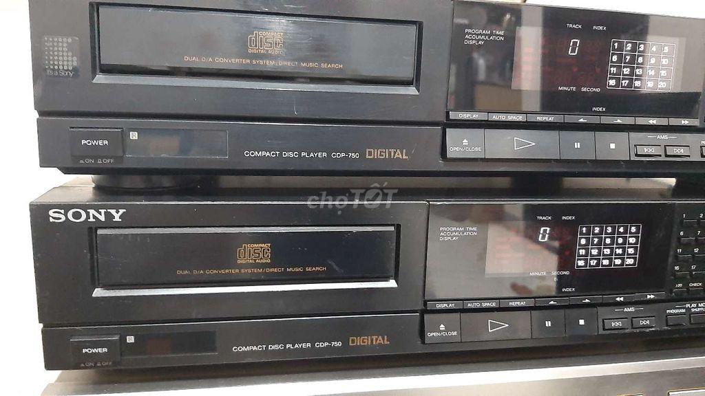 0907223269 - Bán đầu đĩa CD sony  750 hàng bãi Nhật về zin