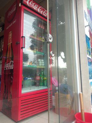 Tủ mát hình coca