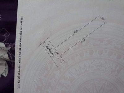 Lô đất vuông vức 5x30=150m2 đã có sổ đỏ!!
