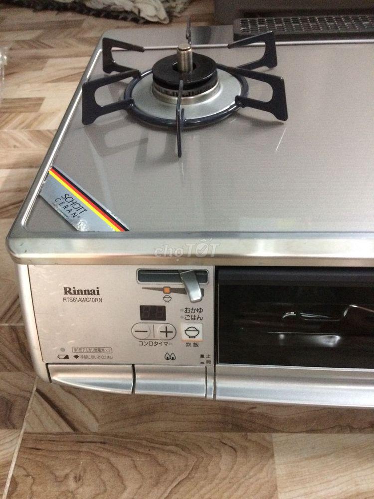 Bán bếp ga rinnai(RTS61AWG10RN) chống sốc mới ken