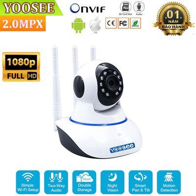 Camera Yoosee 3 râu 2.0 (Full HD 1080P)kèm thẻ 32G