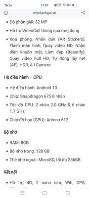 Mình cần bán điện thoại Vivo V19 Neo