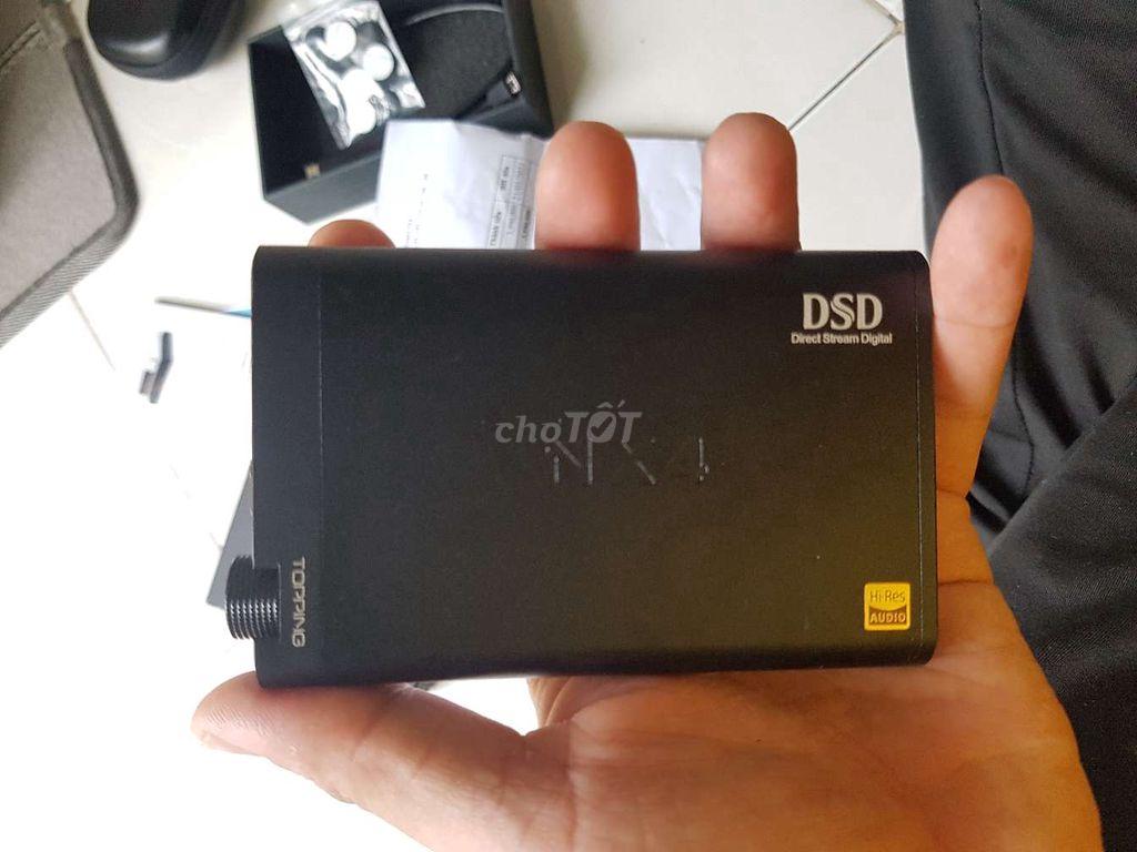 0888166692 - Em cần bán DAC / Amply Topping NX4DSD cho tai nghe