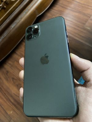 iPhone 11 Pro Max 64G quốc tế màu Xanh ,mới 99%