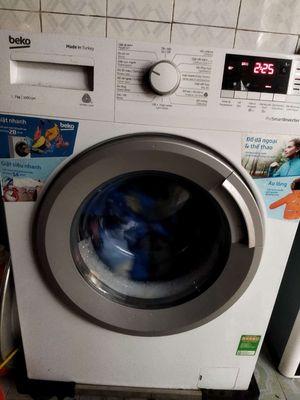 beko 7kg inverter có giặt nước nóng còn bảo hành