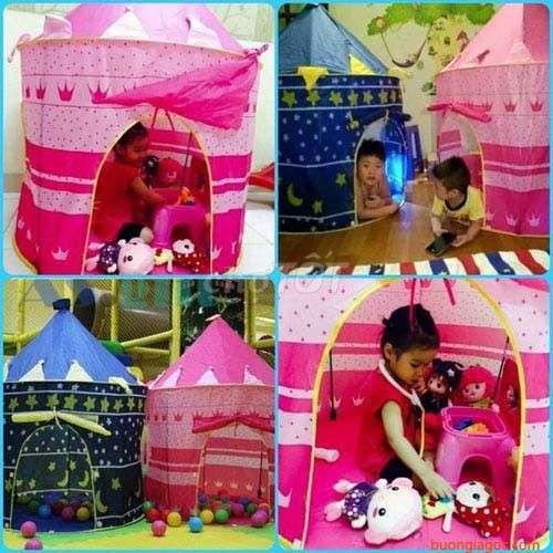 Lều hoàng tử công chúa dành cho bé