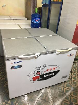 Tủ đông Alaska 450lit mới 80%tủ 2 ngăn