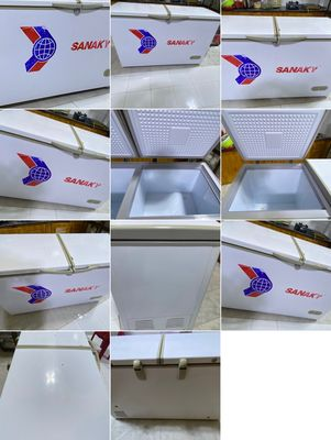 Sanaky ống đồng nhà xài ,tặng tủ lạnh 240lit cũ