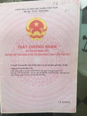 Bán đất 2 mặt tiền Nam Hòa Xuân điện âm