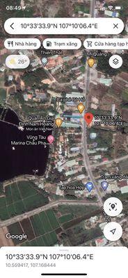 dt 9x15 đối diện KDL hồ Marina cách đường lớn 30m
