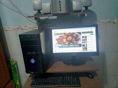 Bán cả bộ PC đồ hoạ Game luôn dàn loa sub