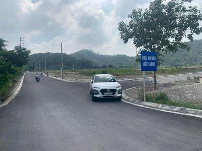 Bán đất đấu giá thị trấn Tân Thanh