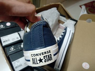 Giày Converse classic xanh navy size 38 real new