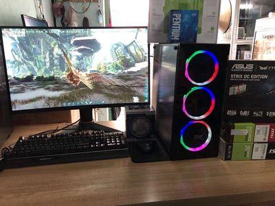 PC GAME/MSI H110/G4560/DR4 8G/GTX750TI 2G/SSD 120G