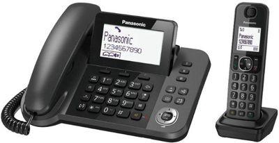 Dư điện thoại bàn máy mẹ con Panasonic KX-TGF3 mới