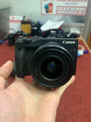 Bộ máy ảnh canon M3 đẹp