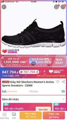 Giày nữ skechers new 100% size 37 38