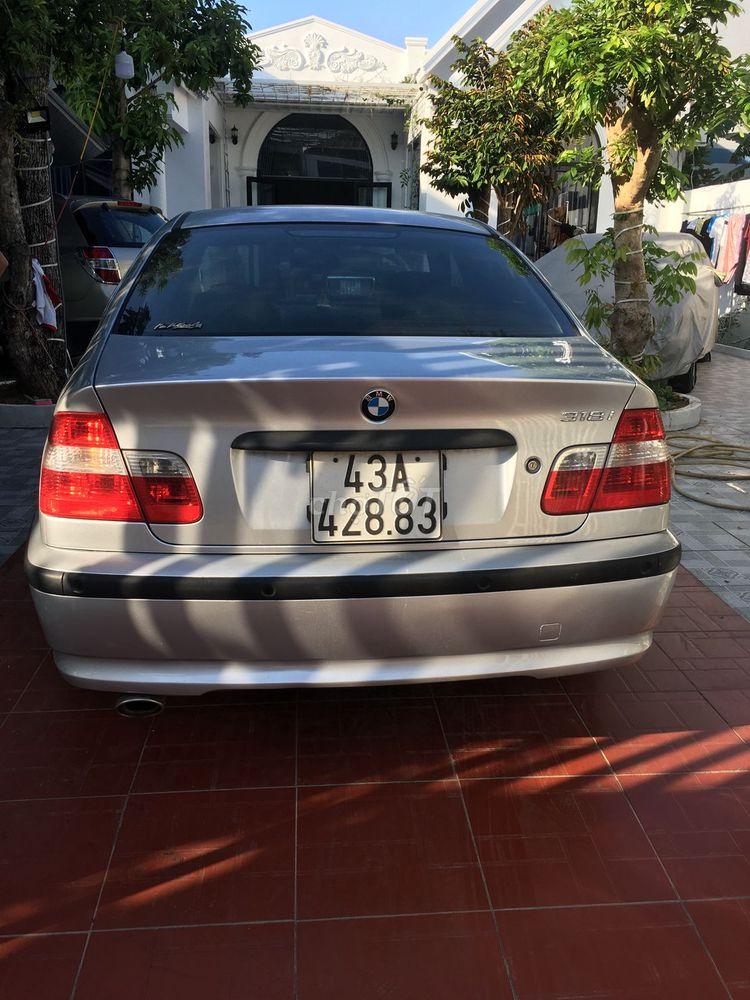 Bán BMW 318i-2005 rất đẹp hoặc đổi xe 7chổ