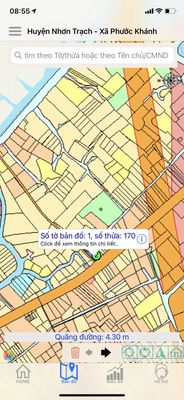 Tại sao NĐT lại tập trung mua đất xã Phước Khánh?