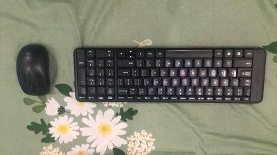 Bộ bàn phím-chuột không dây Logitech MK220