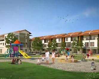 nhà 3 tầng nằm trong lõi đô thị VSIP