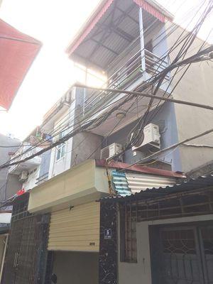 Nhà mặt ngõ to 3 tầng Lô 112 Lý Hồng Nhật