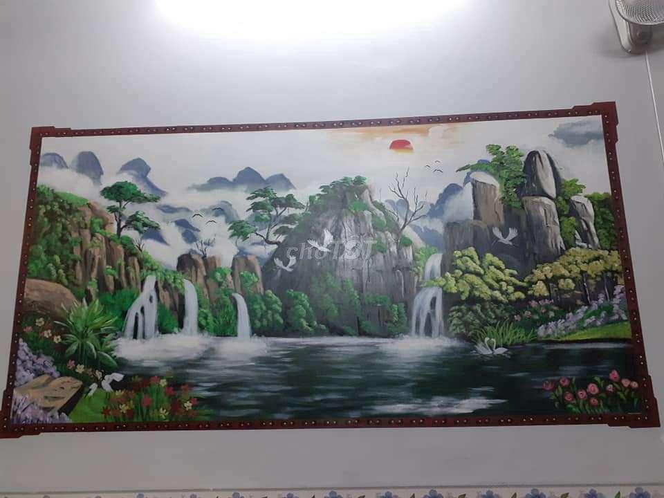 0345640650 - Nhận vẽ tranh tường