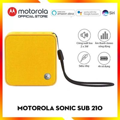 Loa di động Motorola Sonic Boost 210 mớ 100%