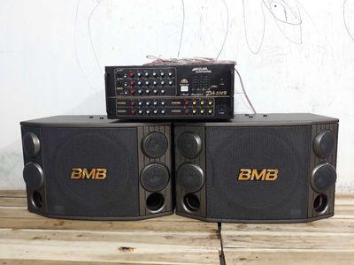 Bộ âm li 506N hàn quốc loa bãi BMB CSD 2000(C)