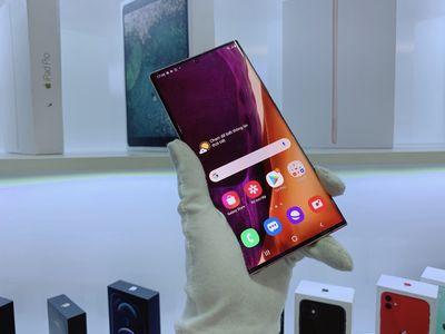 Samsung Note 20Ultra chính hãng BH 7Tháng TrảGóp