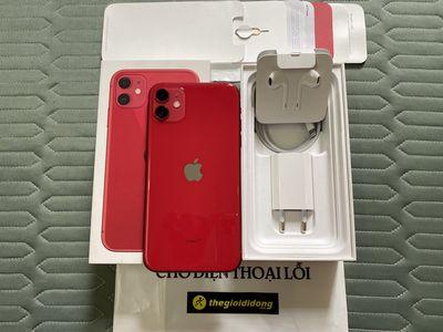 iPhone 11 Đỏ 64G Quốc tế còn BH ở TGDĐ gần 6 tháng