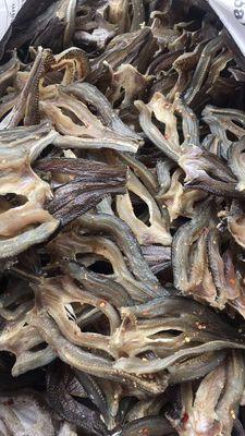 Khô cá lóc ửng đồng