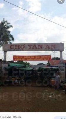 Cần sang nhượng lại 1 sạp bán hàng tại chợ Tân An
