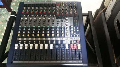 Mixer Soundraft MFX8.hàng trưng bày thanh lý