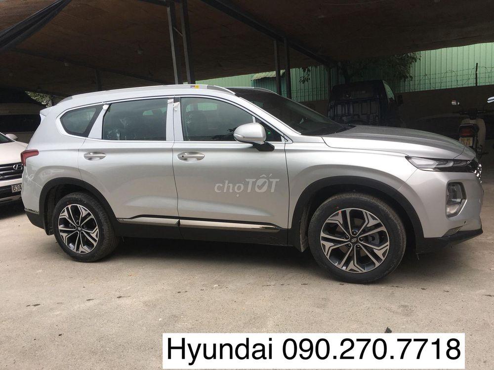 Hyundai Santa Fe 2019 đủ màu/giao ngay/KM Nhiêu
